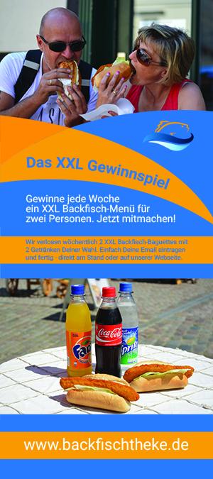 Backfischtheke XXL Gewinnspiel